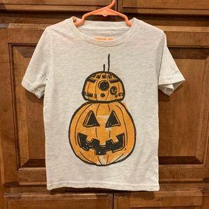 BB8 Star Wars boys shirt size 5T worn once